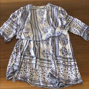 Tilly's Kimono Blue & White